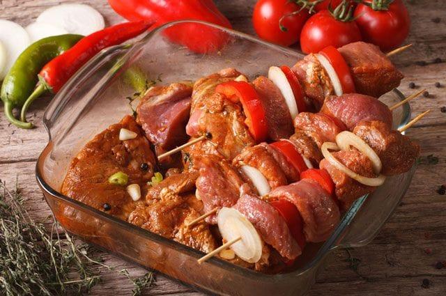 Рецепт томатного маринада для шашлыка из свинины